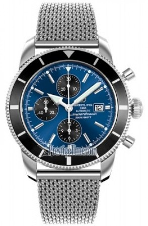 AAA Replica Breitling Superocean Heritage Chronograph Mens Watch a1332024/c817-ss