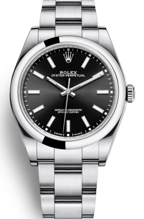 AAA Replica Rolex Oyster Perpetual 39mm Mens Watch 114300-0005