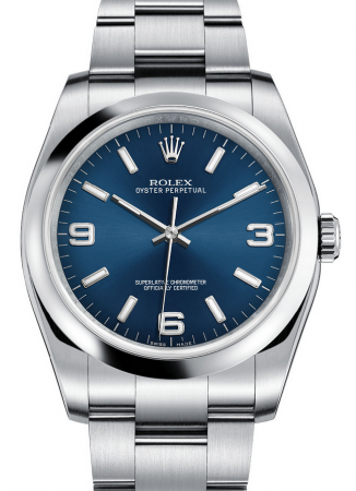 AAA Replica Rolex Oyster Perpetual 36mm Mens Watch 116000-0002