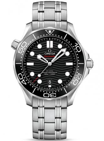 AAA Replica Omega Seamaster Diver 300M Master Co-Axial Watch 210.30.42.20.01.001