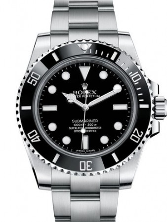 AAA Replica Rolex Oyster Perpetual Submariner Mens Watch 114060