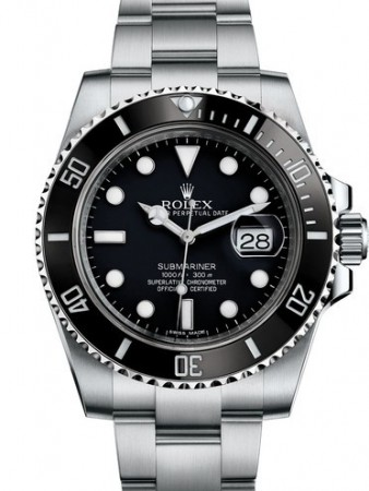 AAA Replica Rolex Oyster Perpetual Submariner Date Mens Watch 116610LN
