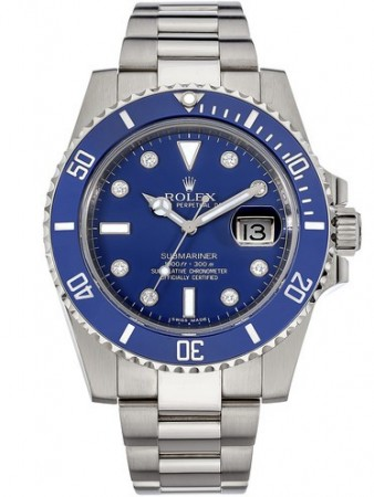 AAA Replica Rolex Oyster Perpetual Submariner Date Mens Watch 116619LB