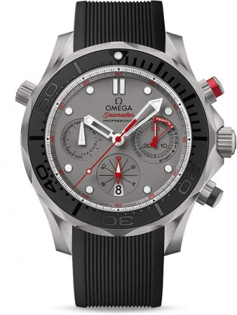 AAA Replica Omega Seamaster 300m Diver Co-Axial Chronograph 44mm Mens Watch 212.92.44.50.99.001