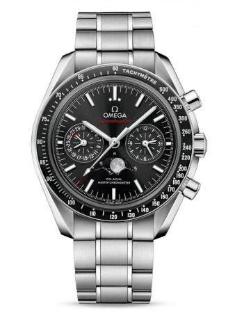 AAA Replica Omega Speedmaster Moonphase Co-Axial Master Chronometer Chronograph Mens Watch 304.30.44.52.01.001