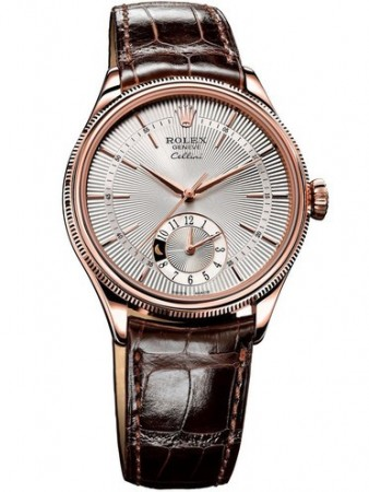AAA Replica Rolex Cellini Dual Time 39mm Mens Watch 50525-0008
