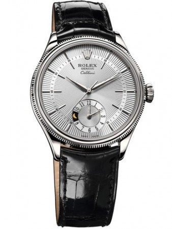 AAA Replica Rolex Cellini Dual Time 39mm Mens Watch 50529-0006