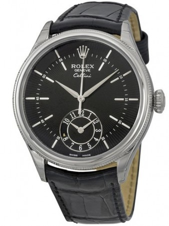 AAA Replica Rolex Cellini Dual Time 39mm Mens Watch 50529-0007