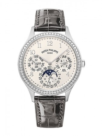 AAA Replica Patek Philippe Grand Complications White Gold Ladies Watch 7140G-001
