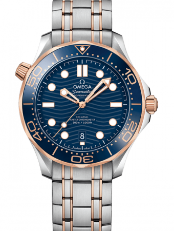 AAA Replica Omega Seamaster Diver 300m Co-Axial Master Chronometer 42mm Mens Watch 210.20.42.20.03.002