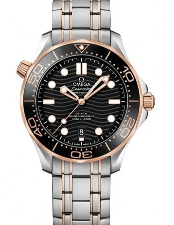 AAA Replica Omega Seamaster Diver 300m Co-Axial Master Chronometer 42mm Mens Watch 210.20.42.20.01.001
