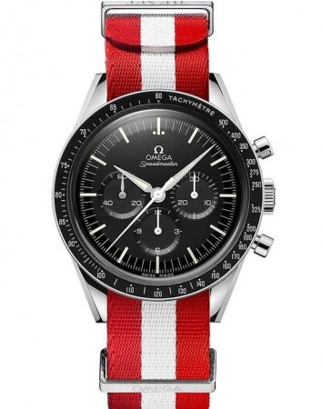 """AAA Replica Omega Speedmaster """"First Omega In Space"""" The Met Edition Watch 311.32.40.30.01.002"""