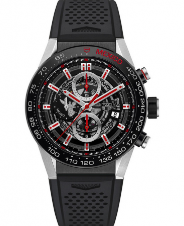 AAA Replica TAG Heuer Carrera Calibre Heuer 01 Automatic Chronograph Mexico Angel Limited Edition Watch CAR2A1F.FT6044