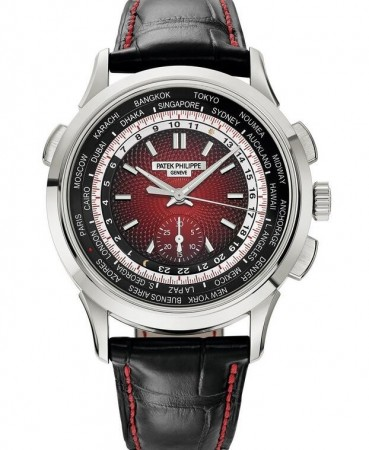 AAA Replica Patek Philippe World Time Chronograph Singapore 2019 Special Edition Mens Watch 5930G-011