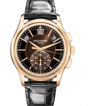 AAA Replica Patek Philippe Complications Flyback Chronograph Annual Calendar Watch 5905R-001