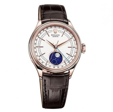 AAA Replica Rolex Cellini Moonphase Automatic Watch 50535