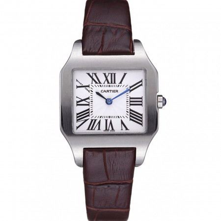 Cartier Santos 100 Polished Stainless Steel Bezel 621923