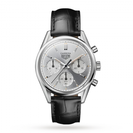 Swiss TAG Heuer Carrera 160 Years Silver Limited Edition CBK221C.FC6488