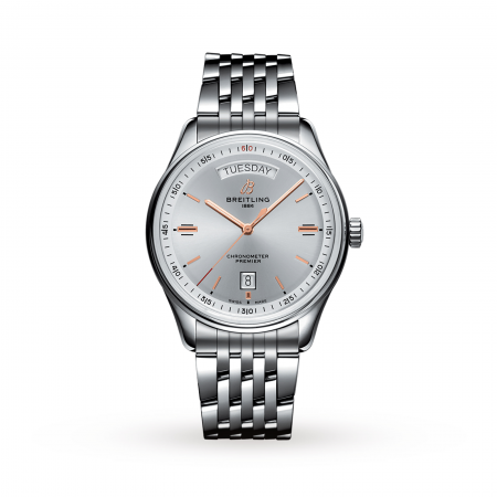 Swiss Breitling Premier Automatic Day Date 40 A45340211G1A1