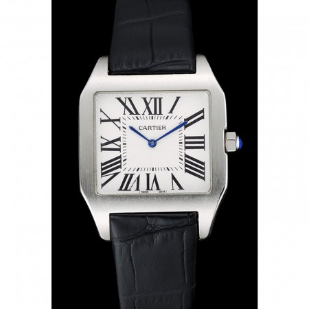 Cartier Santos 100 Polished Stainless Steel Bezel 621931