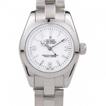 Rolex Explorer Polished Stainless Steel White Dial 98088