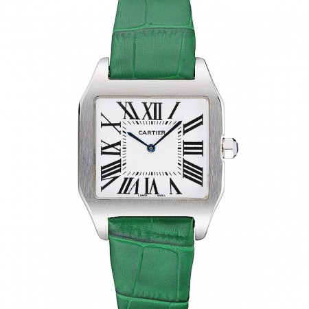 Cartier Santos 100 Polished Stainless Steel Bezel 621934