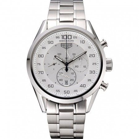 Tag Heuer Carrera Mikrograph Stainless Steel 622077
