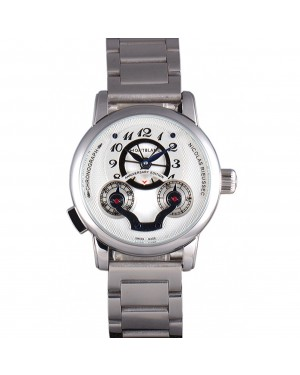 Montblanc Nicolas Rieussec Anniversary Edition Stainless Steel Bracelet 621629