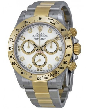 AAA Replica Rolex Cosmograph Daytona Stainless Steel and Yellow Gold Mens Watch 116523-0057