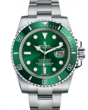 AAA Replica Rolex Oyster Perpetual Submariner Date Mens Watch 116610LV