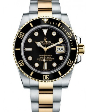 AAA Replica Rolex Oyster Perpetual Submariner Date Mens Watch 116613LN