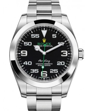 AAA Replica Rolex Oyster Perpetual Air King 40mm Mens Watch 116900-0001