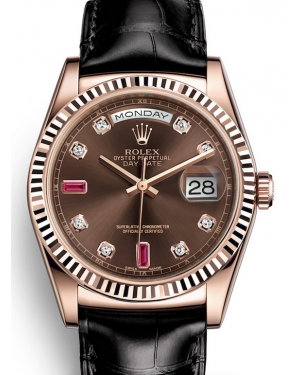AAA Replica Rolex Day-Date 36mm Automatic Mens Watch 228349RBR-0040