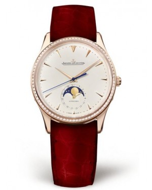 AAA Replica Jaeger-LeCoultre Master Ultra Thin Moon Pink Gold Watch 1252501