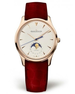 AAA Replica Jaeger-LeCoultre Master Ultra Thin Moon Pink Gold Watch 1252520