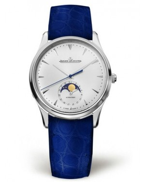 AAA Replica Jaeger-LeCoultre Master Ultra Thin Moon Stainless Steel Watch 1258420