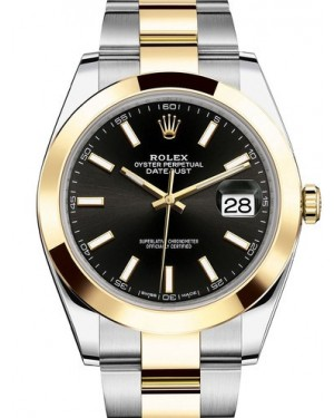 AAA Replica Rolex Datejust 41mm Stainless Steel and Yellow Gold Mens Watch 126303-0013