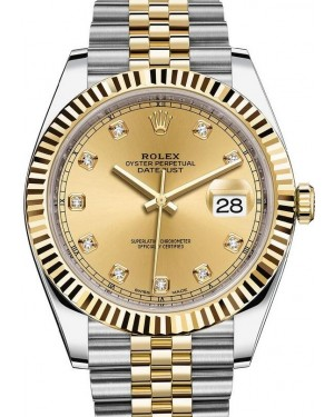 AAA Replica Rolex Datejust Steel and Yellow Gold Mens Watch 126333-0012