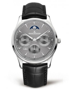 AAA Replica Jaeger-LeCoultre Master Ultra Thin Perpetual White Gold Watch 130354J