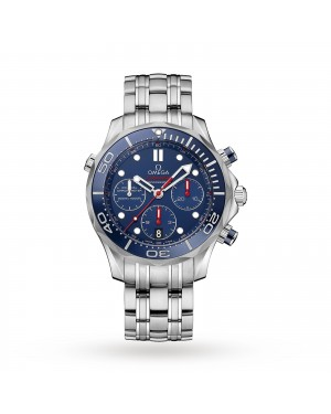 Swiss Omega Seamaster Diver 300m Co-Axial 44mm Mens Watch O21230445003001