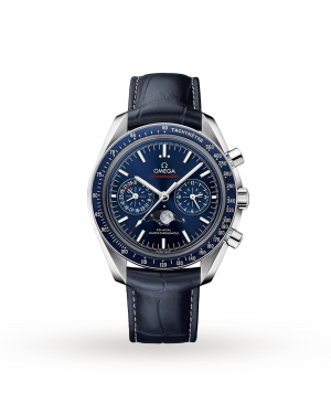 Swiss Omega Speedmaster Moonwatch Co-Axial Moonphase 44.25mm Mens Watch O30433445203001