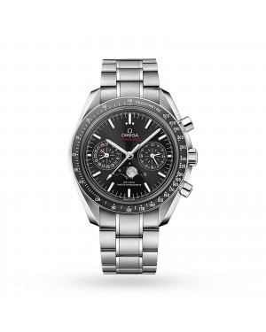 Swiss Omega Speedmaster Moonwatch Co-Axial Moonphase 44.25mm Mens Watch O30430445201001