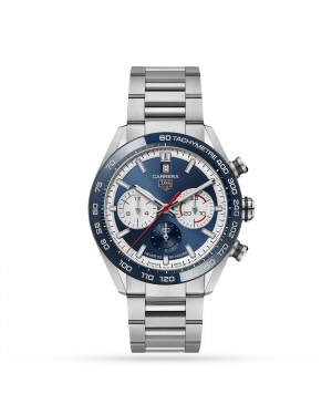 Swiss TAG Heuer 160th Anniversary Limited Edition Carrera 44mm Mens Watch CBN2A1E.BA0643