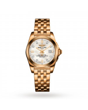 Swiss Breitling Galactic Ladies Watch H7234812/A792 791H