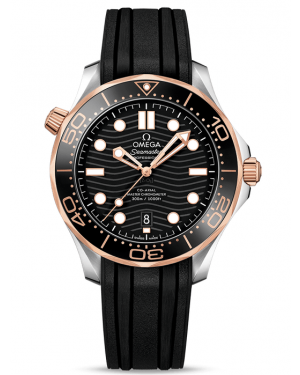 AAA Replica Omega Seamaster Diver 300M Master Co-Axial Watch 210.22.42.20.01.002