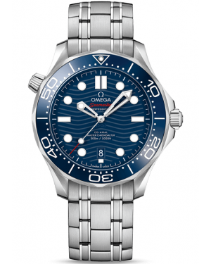 AAA Replica Omega Seamaster Diver 300M Master Co-Axial Watch 210.30.42.20.03.001