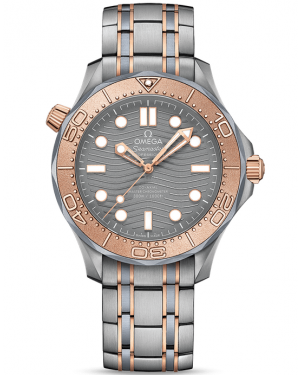 AAA Replica Omega Seamaster Diver 300M Master Co-Axial Watch 210.60.42.20.99.001