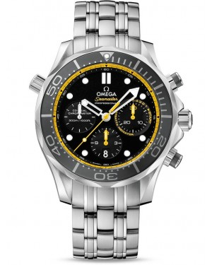 AAA Replica Omega Seamaster 300m Diver Co-Axial Chronograph Mens Watch 212.30.44.50.01.002