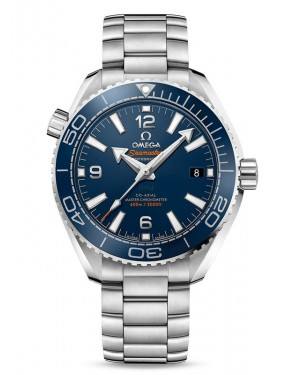 AAA Replica Omega Seamaster Planet Ocean 600M 39.5 Master Chronometer Blue Dial Watch 215.30.40.20.03.001
