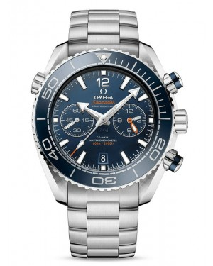 AAA Replica Omega Seamaster Planet Ocean 600M Chronograph Stainless Steel Blue Watch 215.30.46.51.03.001